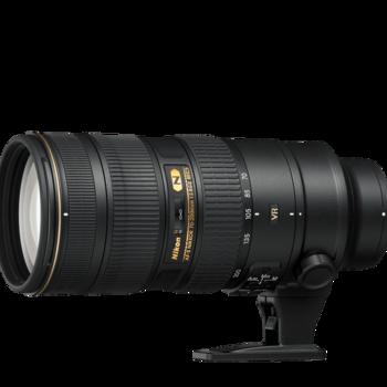 Rent PRISTINE Nikon 70-200mm f/2.8G ED VR II zoom lens