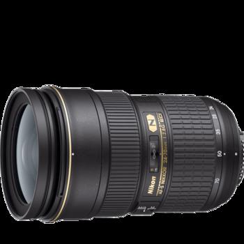 Rent PRISTINE Nikon zoom lens: AF-S NIKKOR 24-70mm F2.8G ED