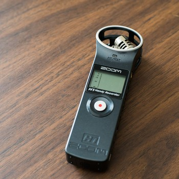 Rent Zoom H1 Handy Recorder with Lav Mic