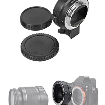 Rent Commlite Auto Focus  Lens Mount Adapter for Canon EF EF-S Lens to Sony E Mount and Sony Alpha