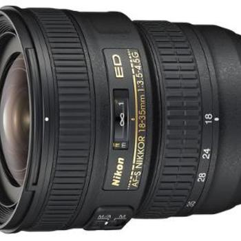 Rent Nikon AF-S FX NIKKOR 18-35mm f/3.5-4.5G ED in great condition