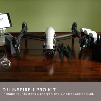Rent DJI Inspire 1 Pro  Kit