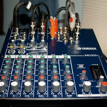 Rent Yamaha MG102c Mixing Console