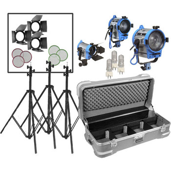 Rent Arri Compact Fresnel Three-Light Kit (650, 300, 150)