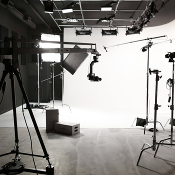 Rent Spacious Pre-Lit Cyclorama Studio & Sound Stage