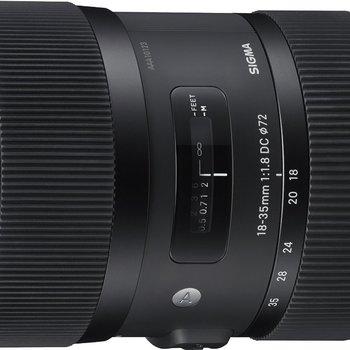 Rent Sigma 18-35mm F1.8 Art DC HSM Lens for Nikon