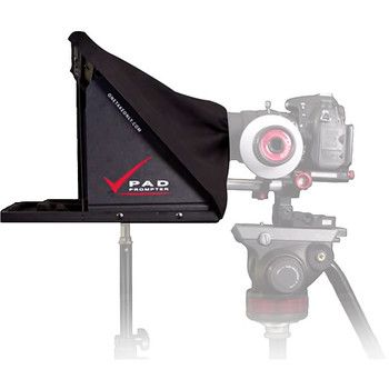 Rent Teleprompter: Portable iPad Prompter with light stand