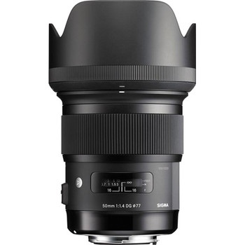 Rent Sigma 50mm f/1.4 DG HSM Lens for Canon EF