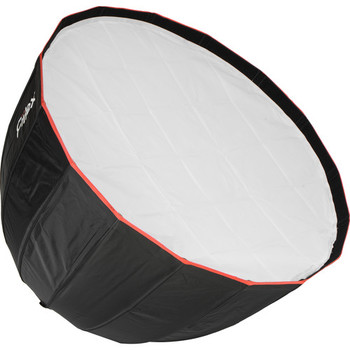 """Rent Fiilex Q500-AC 5"""" Fresnel LED Light (Variable Color Temperature: 2,800-6,500K) with Softbox"""