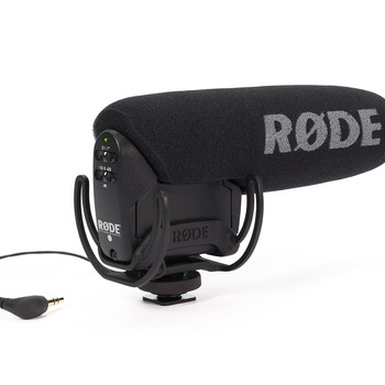 Rent Rode video Mic Pro with Wind Screen - Dead Cat