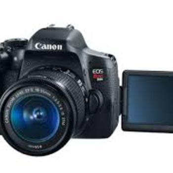 Rent Canon DSLR EOS Rebel T6i
