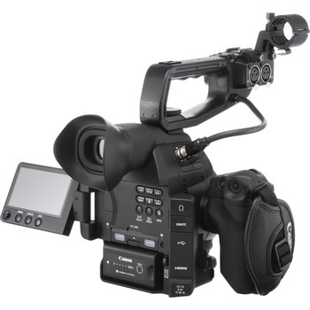 Rent Canon Cinema C100 MII with autofocus, stereo mics handle in a hard case