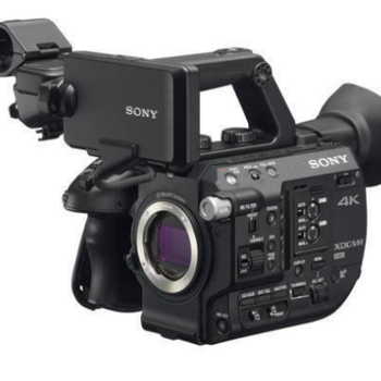 Rent Sony FS5 4k Camera Basic Package w/ EF Speedboast Adapter