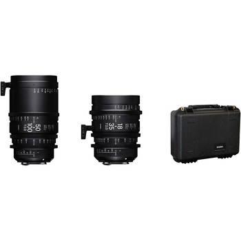 Rent Sigma 18-35mm T/2 50-100mm T/2 Cinema Zoom EF Mount