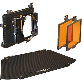 Rent Bright Tangerine Misfit Matte Box - 2x Stage, Clamp On or 15mm LW