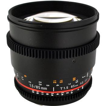 Rent Rokinon EF 85mm Cinema Lens T1.5