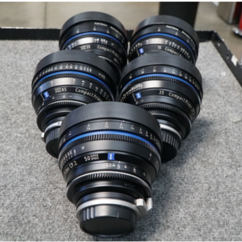 Rent Zeiss Compact Prime CP.2 Package (2 lens)