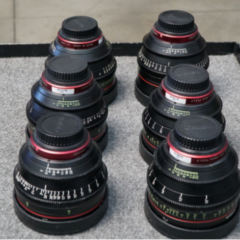 Rent Canon Cinema Prime Lens Package (6 lens)