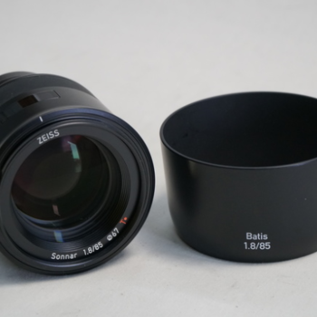 Rent Zeiss Batis 85mm f/1.8 Lens