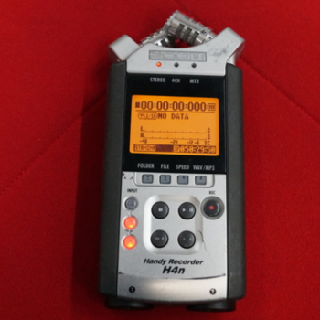 Rent Zoom H4nSP 4-Channel Handy Recorder