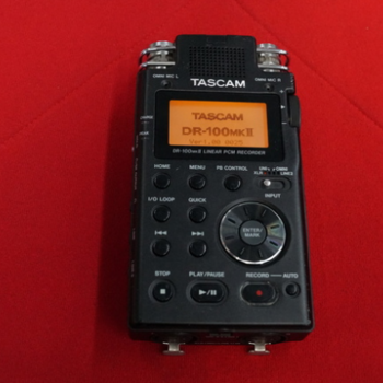 Rent Tascam DR-100 Portable 2-Channel Linear PCM Recorder