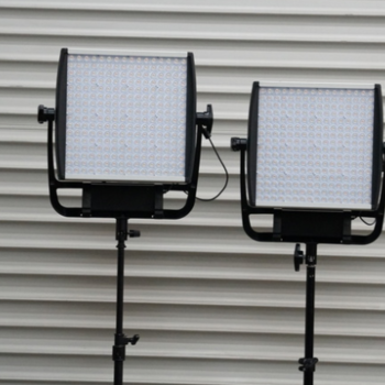Rent Litepanels Astra 1x1 Bi-Color LED Panel Set with Stand
