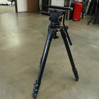 Rent Cartoni Focus 12 Fluid Head (100mm) w/Manfrotto 536 Tripod