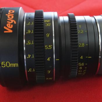 Rent Veydra 50mm T2.2 Mini Prime Lens (Sony E-Mount, Feet)