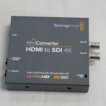 Rent Blackmagic Design Mini Converter HDMI to SDI 4K