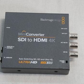 Rent Blackmagic Design Mini Converter SDI to HDMI 4K