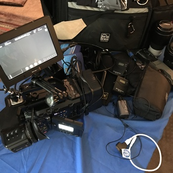 Rent Ursa Mini Pro 4.6k EF w/VA 4K 3.5TB Complete ENG / Doc Package