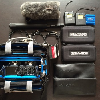 Rent Location Audio Kit Zoom F8, Sennheiser 416, Sony Wireless
