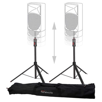 Rent Pneumatic Assist Speaker Stand (set of 2)
