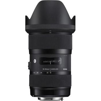 Rent Sigma 18-35mm f/1.8 DC Art lens for Canon - Fastest DSLR zoom lens!