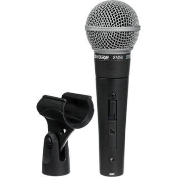 Rent Shure SM 58 Switched Microphone