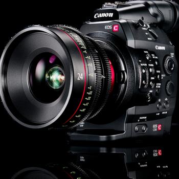 Rent Canon C300 PL