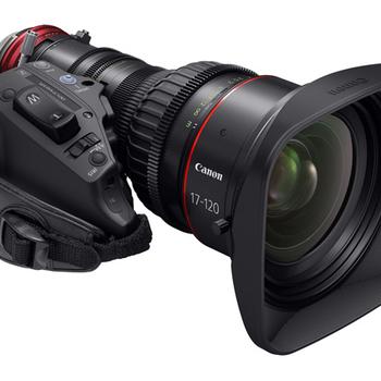 Rent Canon 17-120 cine servo