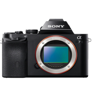 Rent Sony a7 Full-Frame Mirrorless Digital Camera with 20-80mm lens