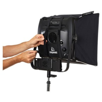 Rent Litepanels Astra 1x1 Bi-Color LED Panel 2x with V-Mount and Chimera