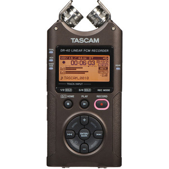 Rent Tascam DR-40 4 Channel Recorder (2 XLR Inputs)