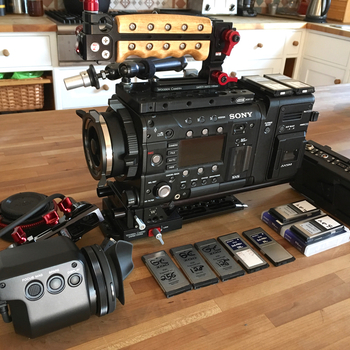 Rent Sony F5 + R7 RAW 4K recorder