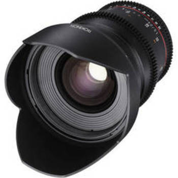 Rent 24mm T1.5 Cine Lens EF mount w/ Clickless Aperture