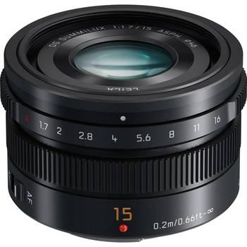Rent Panasonic Leica DG Summilux 15mm f/1.7 ASPH.