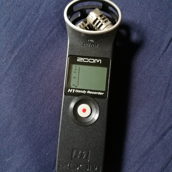 Rent Zoom H1 Audio Recorder