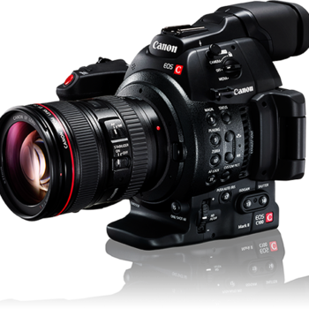 Rent Canon C300 Mark II EF Camera Package w/ baseplate, side and top handle