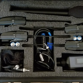 Rent Sennheiser G3 Wireless Lavelier and Mic Kit (2 lav, 1 shotgun mic)