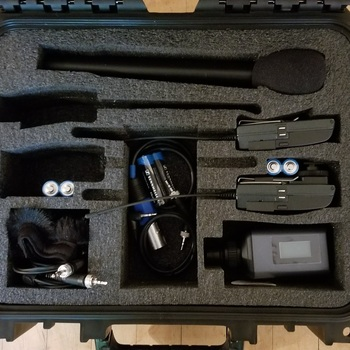 Rent Sennheiser G3 Wireless Lavelier and Mic Kit (1 lav, 1 shotgun mic)