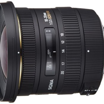 Rent Sigma 10-20mm f/3.5 EX DC HSM ELD SLD Aspherical Super Wide Angle Lens for Nikon