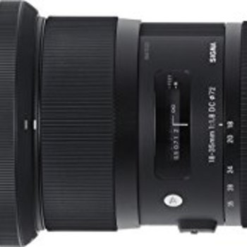 Rent Sigma 18-35mm F1.8 Art DC HSM Lens for Nikon