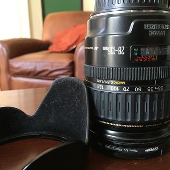 Rent Canon 28-135mm Lens